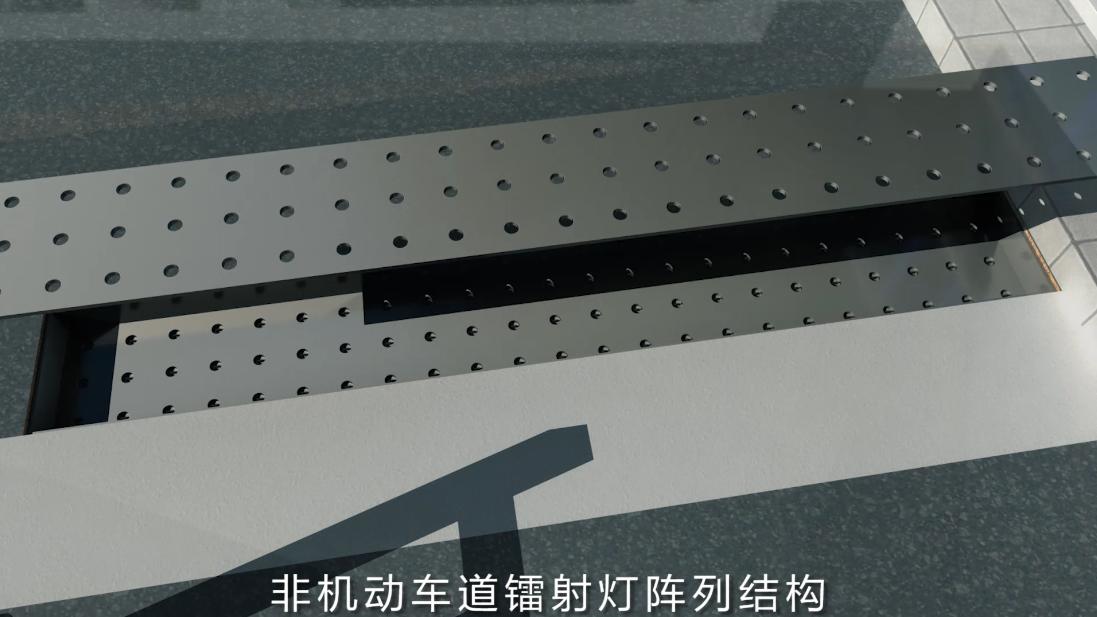 三维材质先后叠合,展现产品结构特点